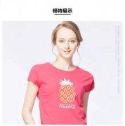 佐丹奴T恤女装 纯棉水果图案